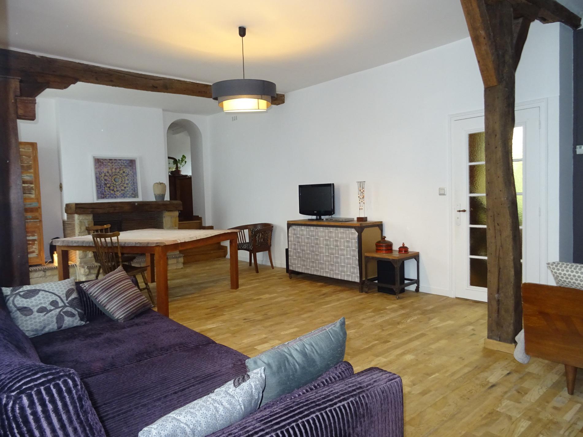 vente appartement en duplex 3 chambres dans petite copropri t. Black Bedroom Furniture Sets. Home Design Ideas