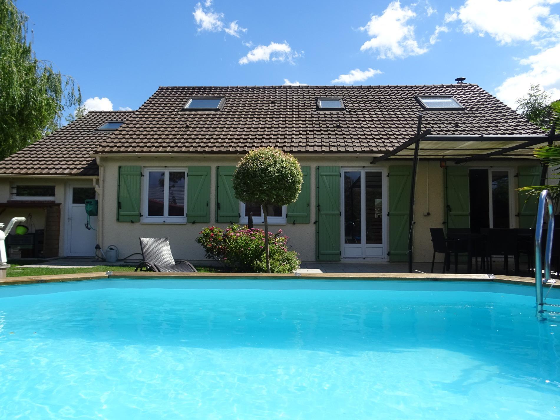 Annonce vente maison orleans 45100 120 m 285 500 992737898587 - Piscine couverte maison orleans ...